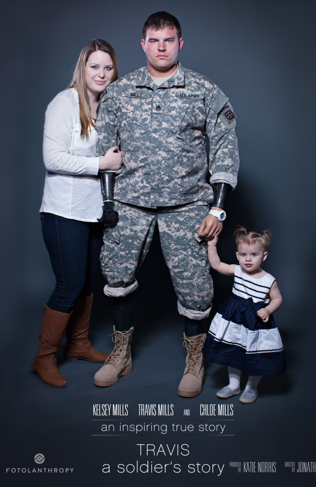 """""""Travis: A Soldier's Story,"""" a documentary, will be shown at 7 p.m. Jan. 16 at Cony High School's Viles Auditorium."""