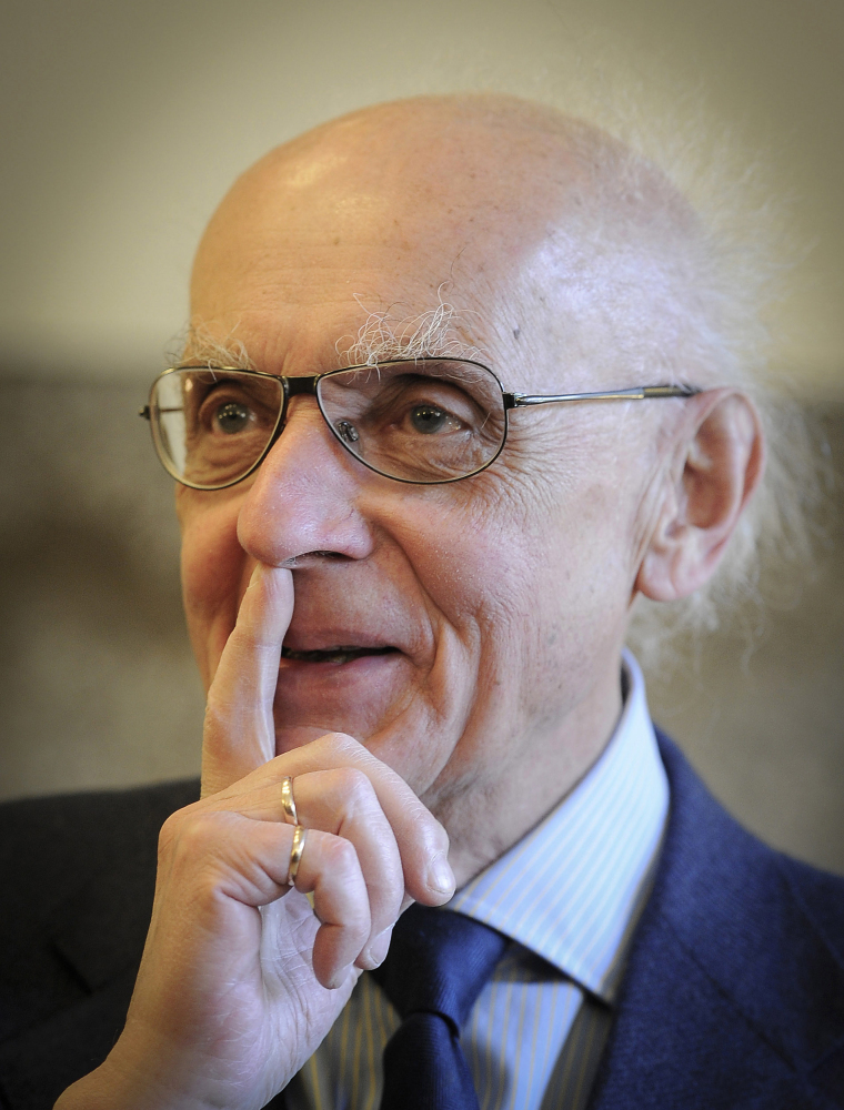"""Polish pianist and composer Wojciech Kilar – photographed in Katowice, Poland, in May 2011 – wrote scores for numerous films including Roman Polanski's """"The Pianist"""" and Francis Ford Coppola's """"Bram Stoker's Dracula."""""""
