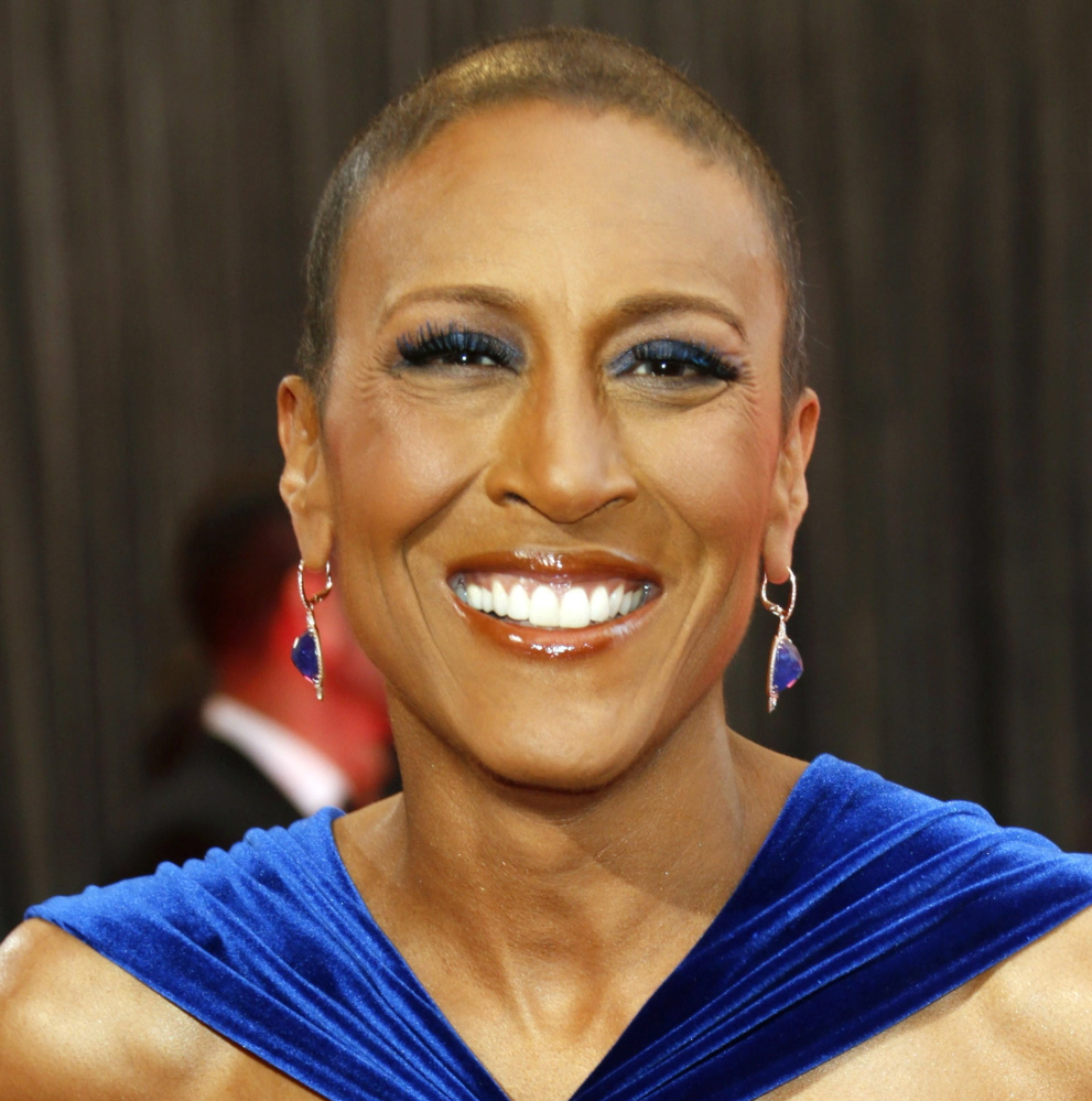 """""""Good Morning America"""" anchor Robin Roberts, who underwent a bone marrow transplant in late 2012, posted Sunday on the one-year anniversary of her critical 100th day post-transplant, when she was given a clean bill of health."""