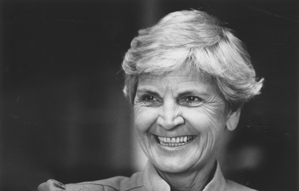 Caroline Glassman was appointed to the state's highest court in 1983, two years after the death of her husband, Harry P. Glassman, also a state supreme court justice.