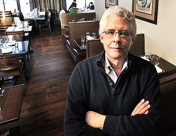 Tom Bard, owner of Zapoteca on Fore Street, is having trouble finding a space for a second restaurant in the Old Port because of high demand in the area.