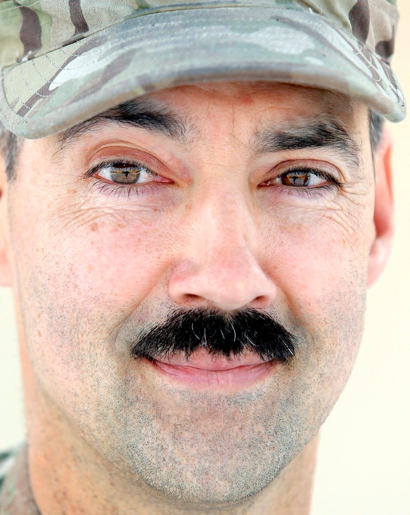 Sgt. 1st Class Jimmy Lapointe of Sebago, photographed Tuesday, December, 31 2013 for soldier profiles.