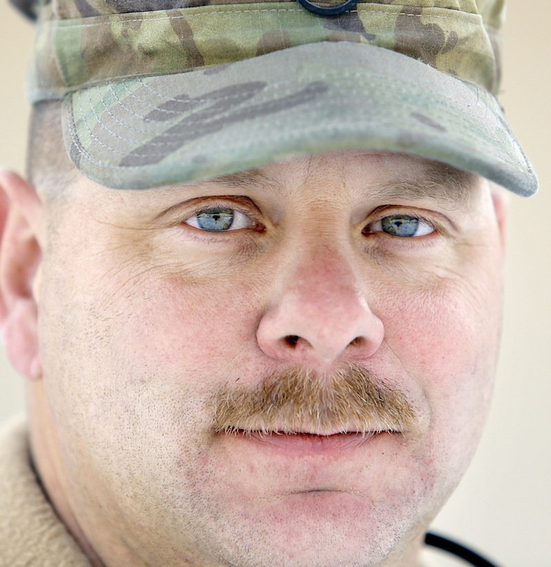 Staff Sgt. Jamie Grant of Buxton, photographed Tuesday, December 31, 2013 for soldier profiles.