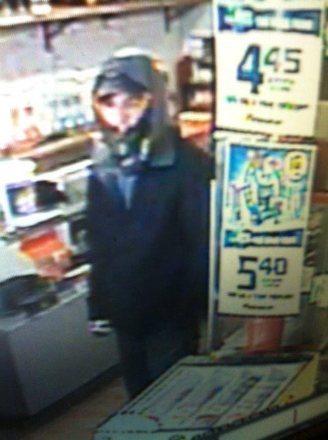 Biddeford police released this surveillance image from the Red Rocket Smoke Shop.