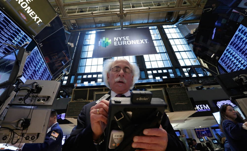 Traders like Peter Tuchman had a front-row seat to the bull market charge throughout 2013. The Standard & Poor's 500 was up 30 percent, its best year since 1997.