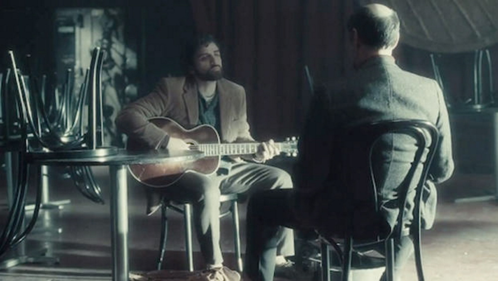 "Intense: Oscar Isaac auditions with F. Murray Abraham in ""Inside Llewyn Davis."""