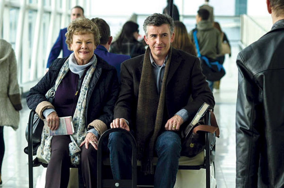 "Perfect match: Judy Dench and Steve Coogan in ""Philomena."""
