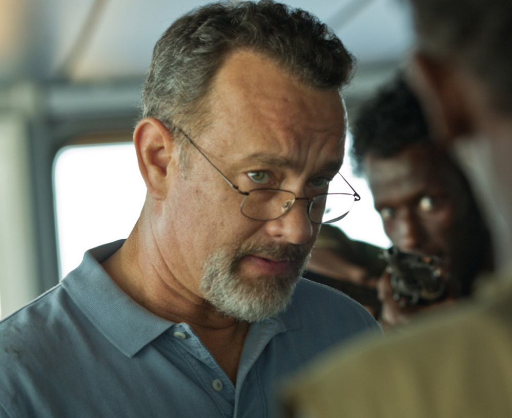 "Unexpected: Tom Hanks in ""Captain Phillips."""