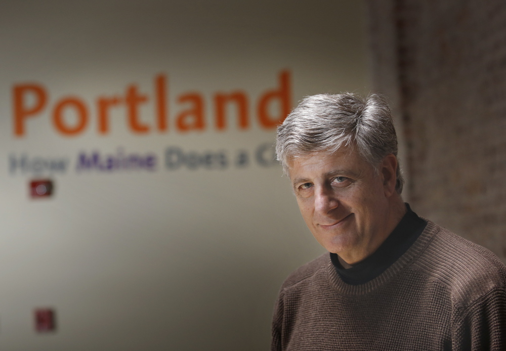 Steve Hewins started his own travel agency, sold it to AAA and now is executive director of Portland's Downtown District.