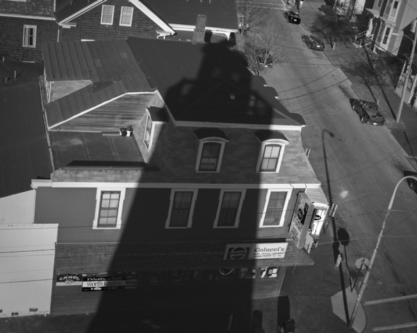 """Tim Byrne's """"Shadows"""" is part of a Greater Portland Landmarks photography exhibition at the Portland Public Library."""