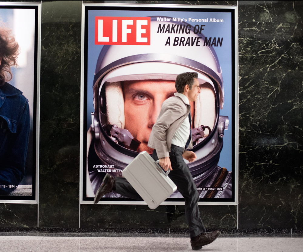 """Ben Stiller runs to a promising future in """"The Secret Life of Walter Mitty."""""""