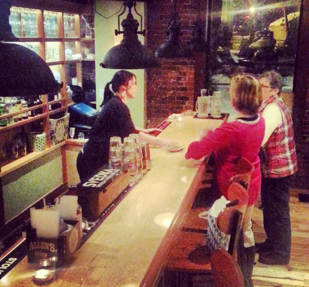 A second bar was recently added at the Snow Squall in an adjoining room, creating more seating and a better atmosphere.