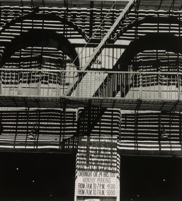"""Park Avenue Garage"" by Ralph Steiner"