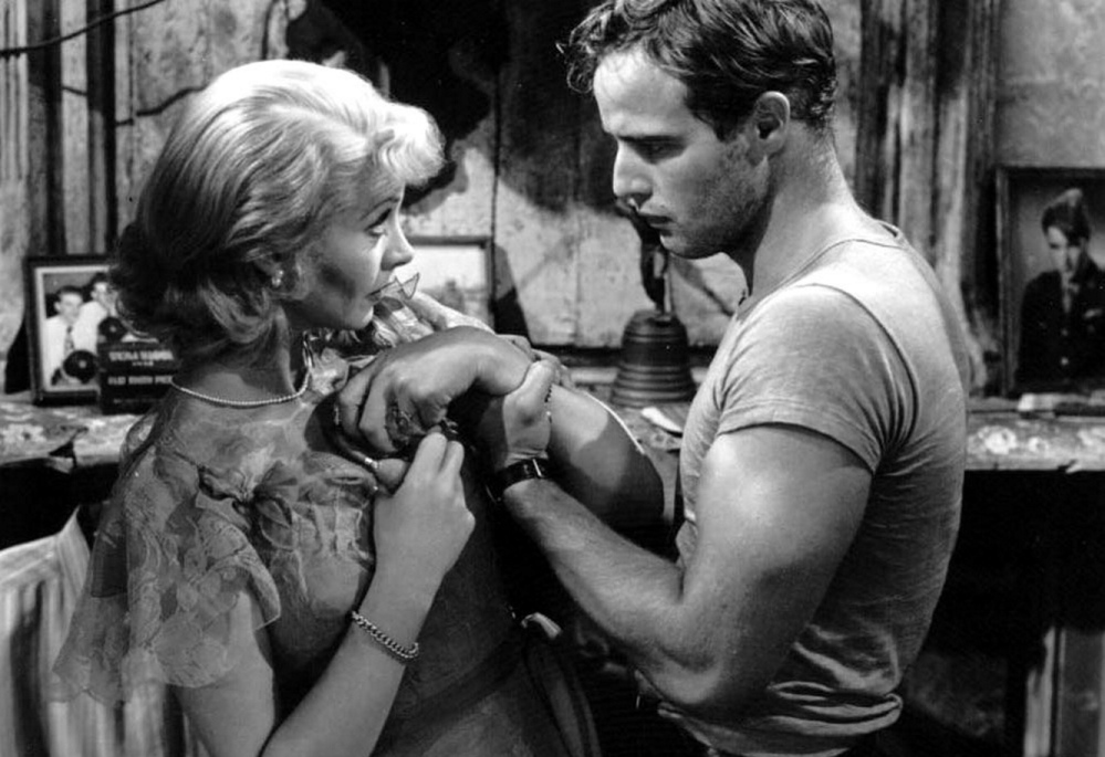 "Vivien Leigh and Marlon Brando in ""A Streetcar Named Desire,"" being screened for free Sunday at the Dunaway Center in Ogunquit."