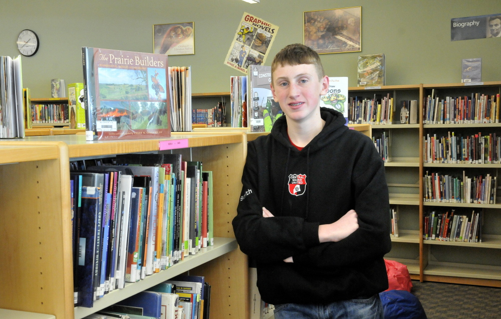 Cole Smith, a Messalonskee Middle School student, has been named by Johns Hopkins University as one of the brightest middle school students in the world.