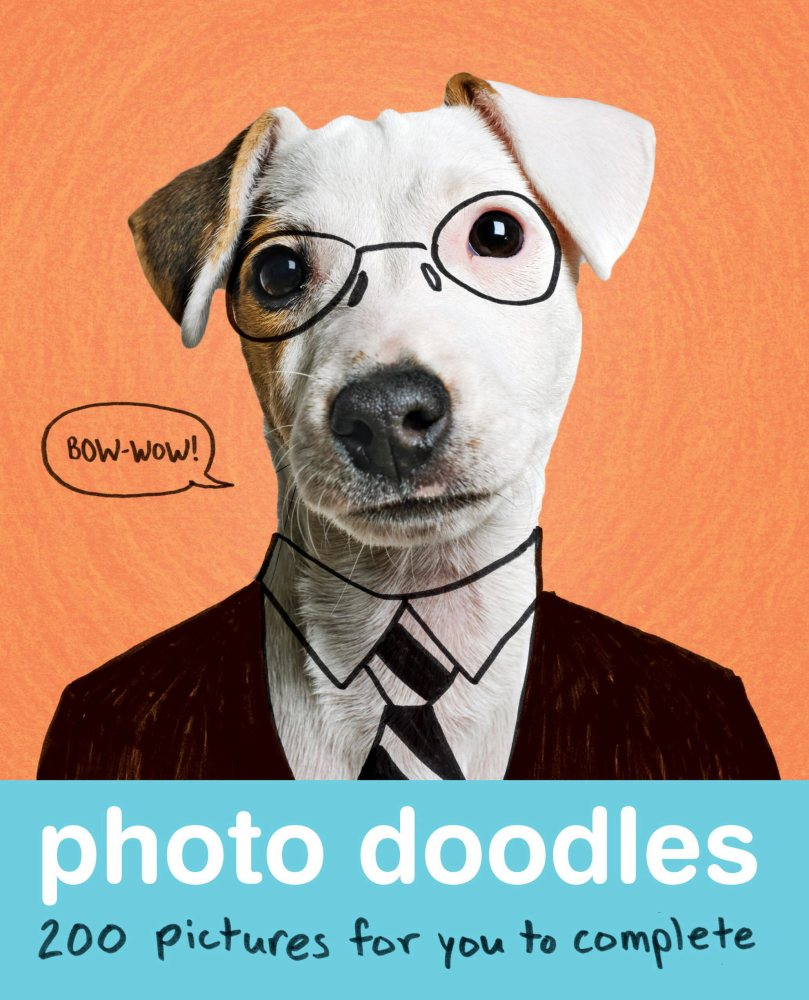 """""""Photo Doodles,"""" by ViiZ (Quirk Books, 2013)."""