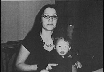 Renee Sandora, New Glucester shooting victim, with her son Ja'kai.