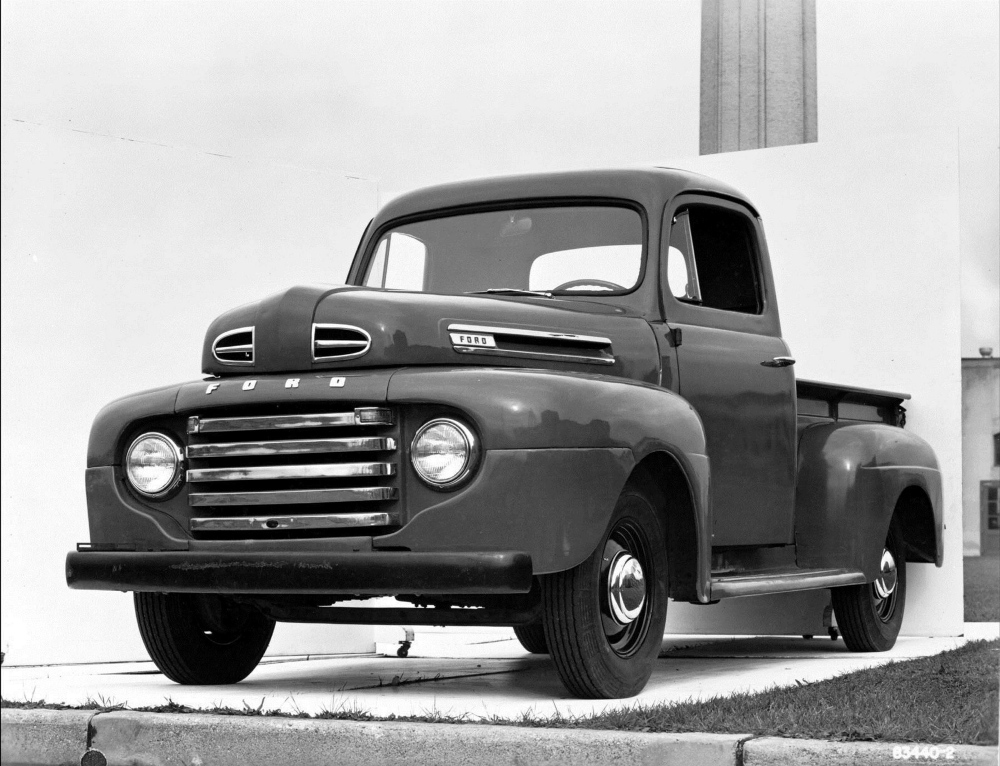 Ford first introduced the F-1 in 1948 as a work vehicle for farmers.