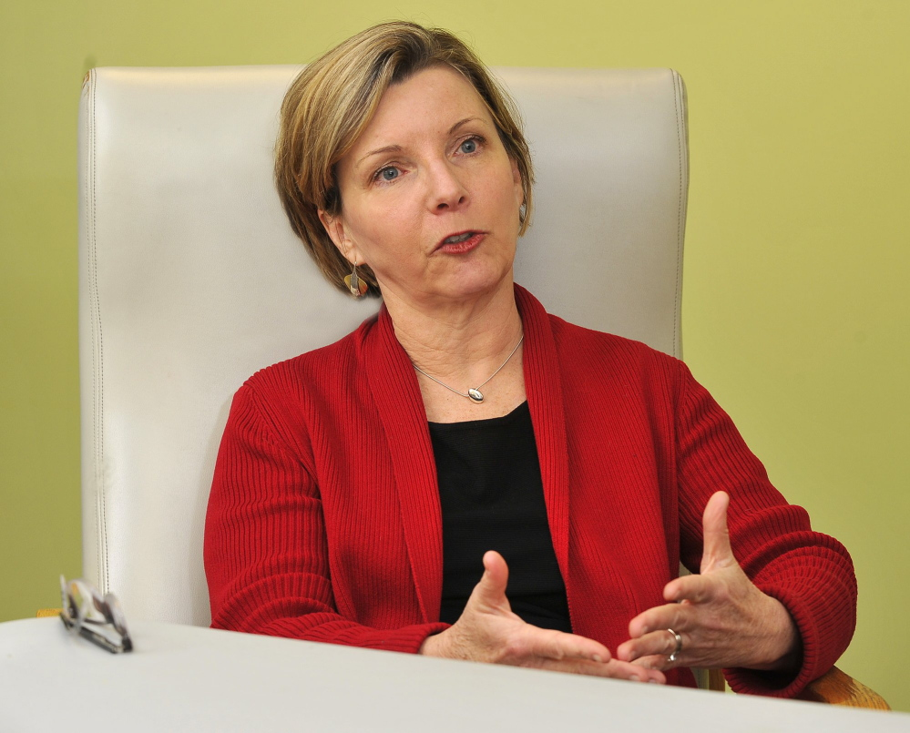 Leslie Brancato, CEO of Portland Community Health Center, is shown in this 2011 file photo.