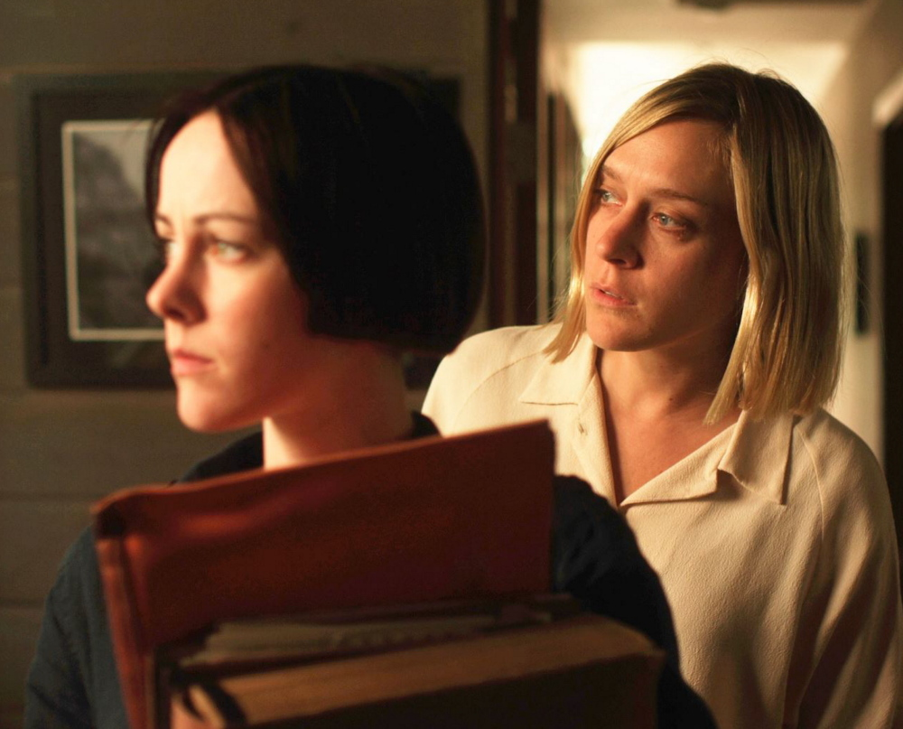 Jena Malone and Chloe Sevigny