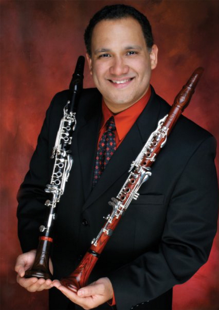Clarinetist Richard Morales performs Mozart with the Portland Symphony Orchestra on Jan. 26.
