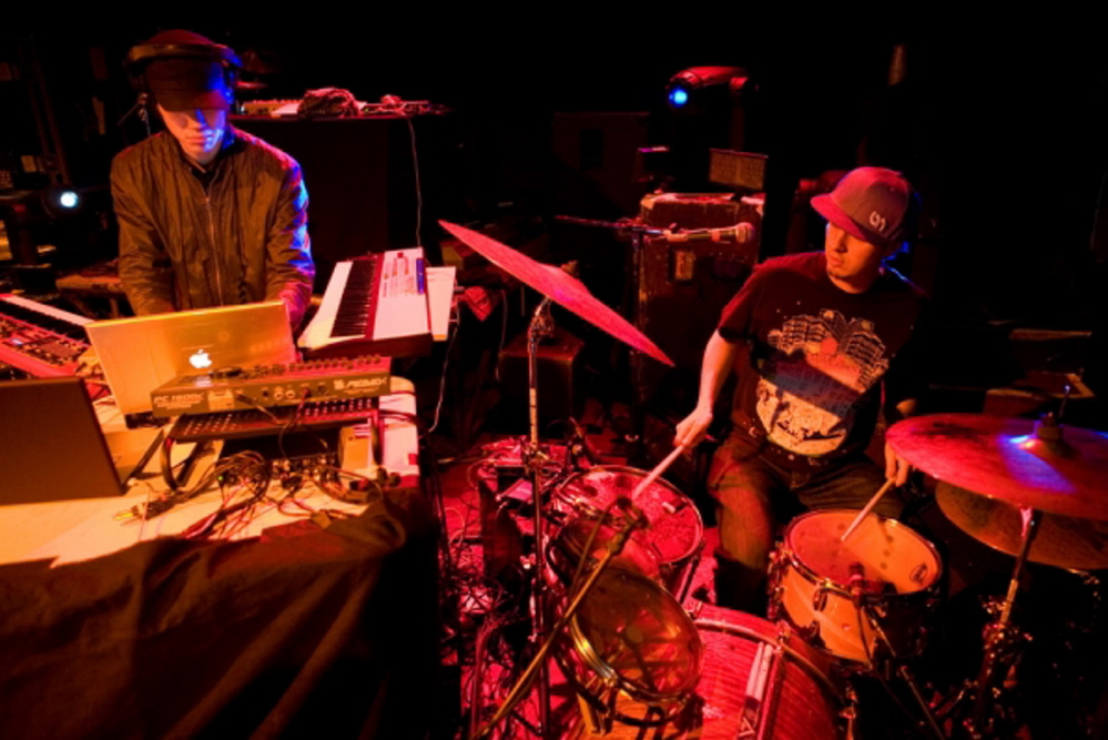 Break Science bring their hip-hop, electronic show to Port City Music Hall in Portland on Wednesday.