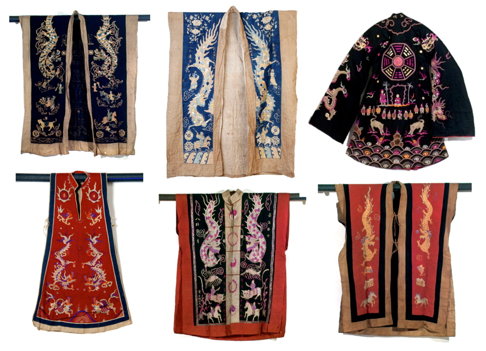 "Yao shaman robes are part of the exhibition ""How to Make the Universe Right: The Art of the Shaman in Vietnam and Southern China,"" opening Friday at the Bates College Museum of Art in Lewiston."
