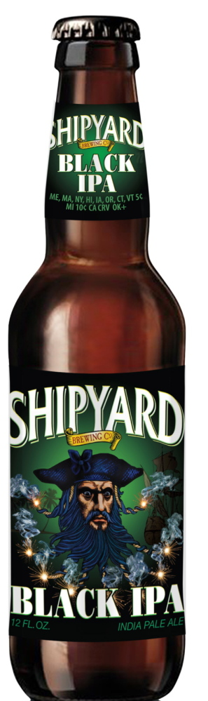 Shipyard Black IPA was created at Federal Jack's in Kennebunk.