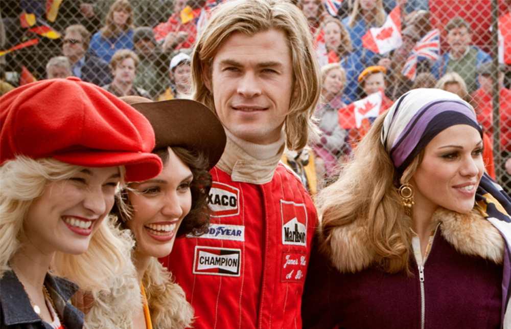 "Chris Hemsworth in ""Rush."""