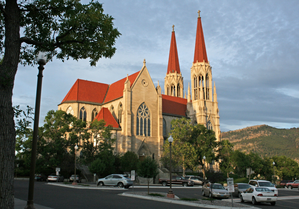 The Roman Catholic Diocese of Helena, Mont., includes the Cathedral of St. Helena. The diocese filed for bankruptcy protection Friday but doesn't expect to liquidate any of its assets.