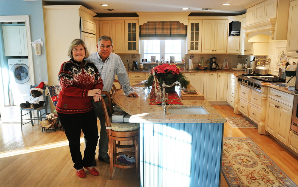 "When their kids moved out, Elizabeth and David Shanks decided to do a whole-house renovation rather than move to a new home that fit their needs. Their daughters opposed renovation – ""They wanted a shrine to their childhood,"" David Shanks said. But it happened anyway."
