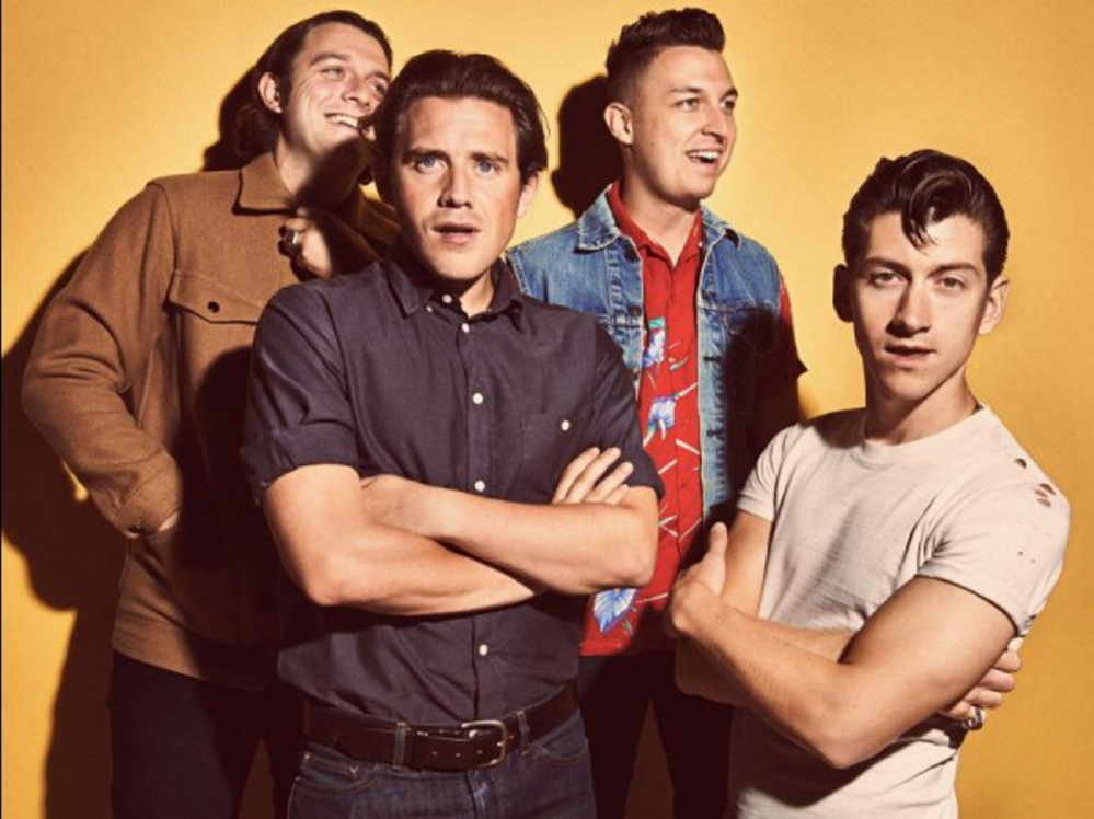 Arctic Monkeys play the State Theatre in Portland on Friday.