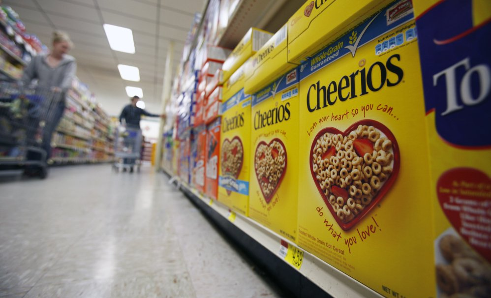 General Mills Inc. said last month that it will no longer use genetically modified ingredients to make its breakfast cereal Cheerios.