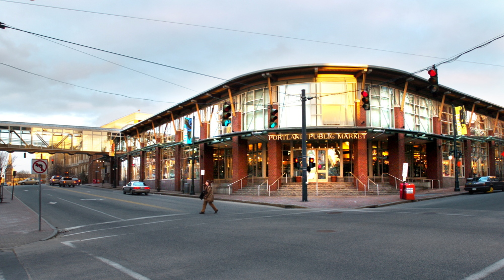 The Libra Foundation built the Portland Public Market at Cumberland Avenue and Preble Street in 1998 and sold it in 2006.