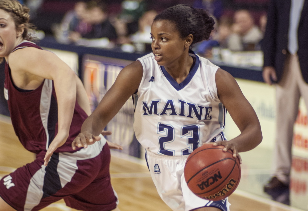 Ashleigh Roberts endured three straight dismal seasons for Maine, but her perseverance paid off. This year the team is 13-11 and she's matured as a senior leader.