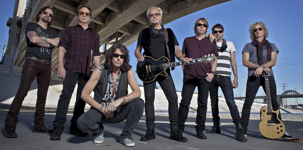 The classic rock group Foreigner has made a habit of showcasing high school choruses as a way to promote music education.