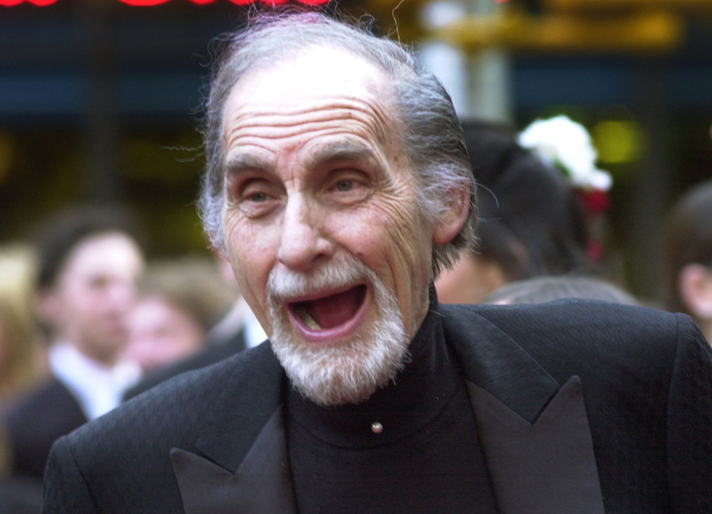 "Sid Caesar, star of ""Your Show of Shows,"" arrives at NBC's 75th anniversary celebration in New York. Caesar, whose sketches lit up 1950s television with zany humor, died Wednesday. He was 91."