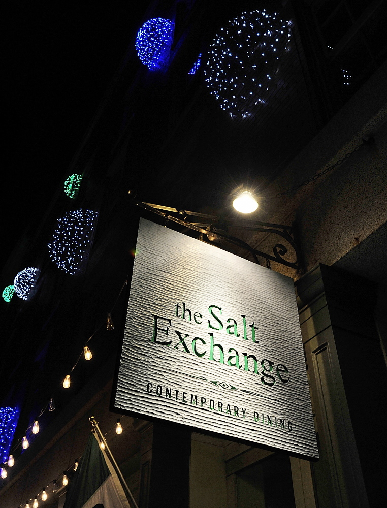 The Salt Exchange restaurant on Commercial Street.