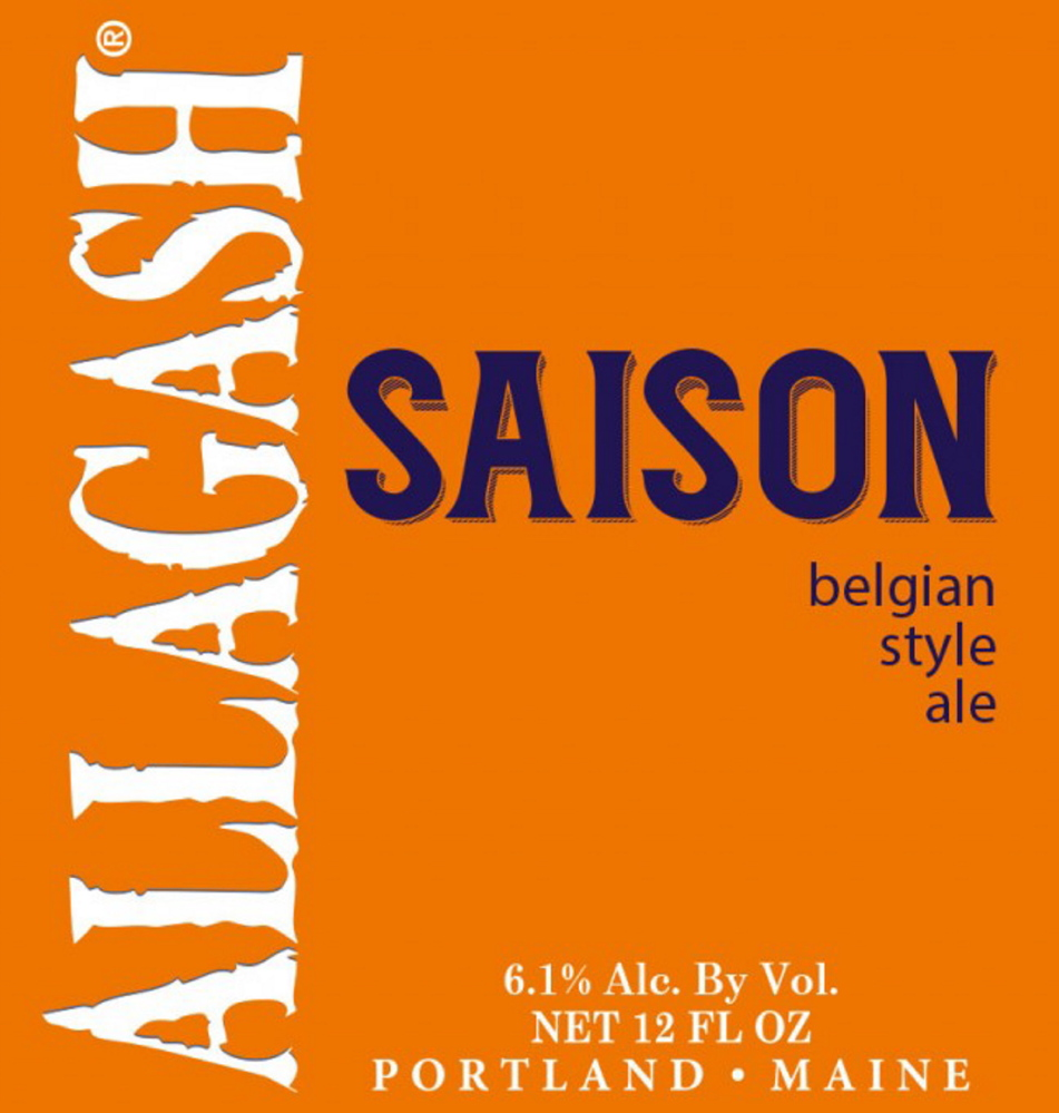 The Saison looks quite a bit like Allagash White, although it is a deeper yellow and cloudier, and that is where the similarities end.