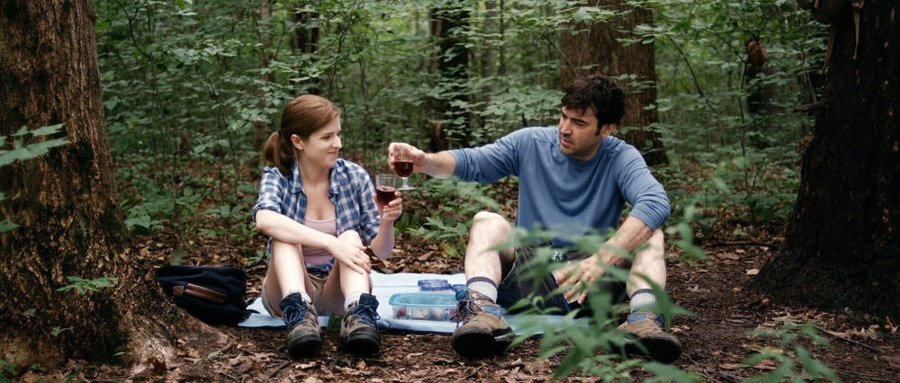 "Anna Kendrick and Ron Livingston in ""Drinking Buddies,"" playing this weekend."