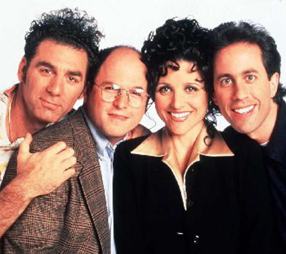 Kramer (Michael Richards), George (Jason Alexander) and Elaine (Julia Louis-Dreyfus) were all as important to