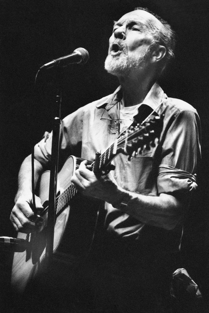 """Sing Out for Seeger, a celebration of the life and music of Pete Seeger, takes place Thursday at One Longfellow Square in Portland. The evening features various performers """"in the round"""" playing Seeger's hits and some of their own. Performers include Phil Hoose, Will Mallett, Meghan Yates, members of Tumbling Bones and many others."""