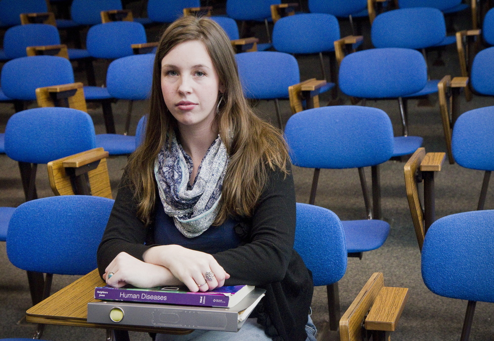 Ellie Fleming, the mother of a 4-year-old, applied for child care funds last May so she could attend Southern Maine Community College in the fall, but a DHHS letter said there was a waiting list. After a DHHS worker told her in December that the list was eliminated last February, Fleming got a voucher and started school this year.