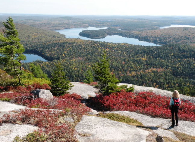 As part of a regimen for the 1,000-mile goal, include hiking time in Acadia National Park. With views like this, you'll be invigorated in both body and mind.
