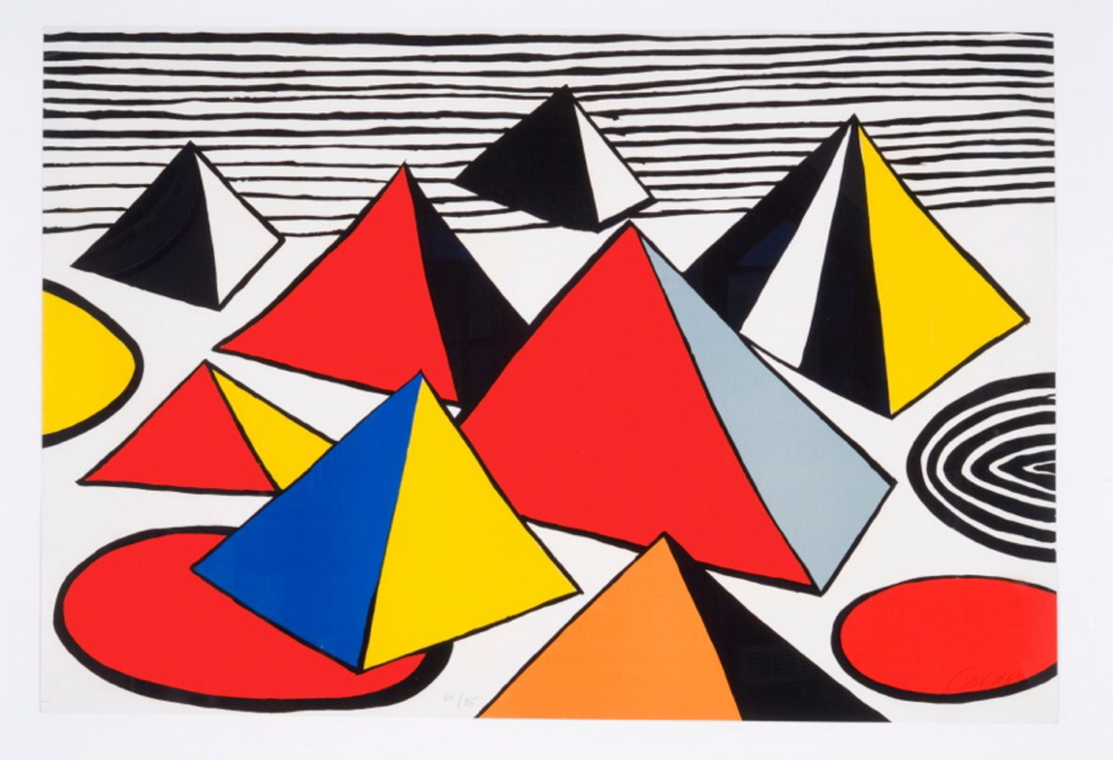 Print by Alexander Calder at Ed Pollack Fine Arts.