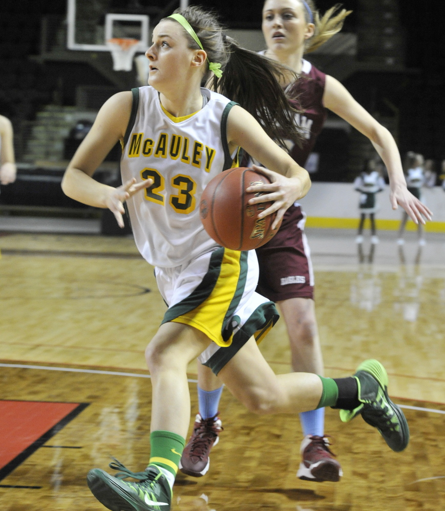 McAuley guard Allie Clement was named the top player in the Western A girls' tournament for the second time, joining an elite group.