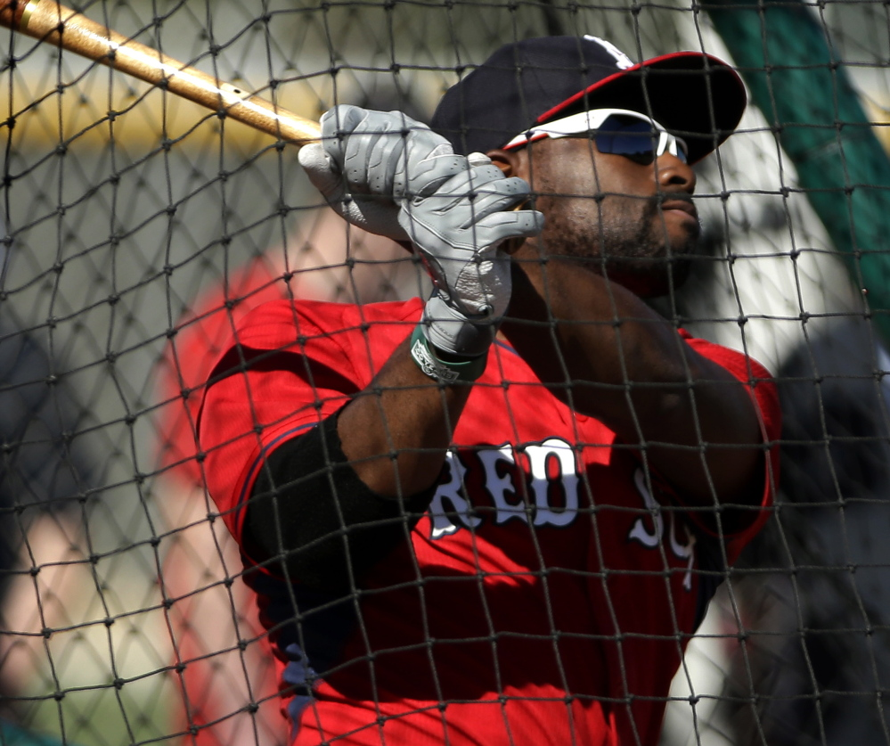 The Associated Press Jackie Bradley Jr. had four stints with Boston last season, finishing with a .189 batting average and playing all three outfield positions in 37 games.