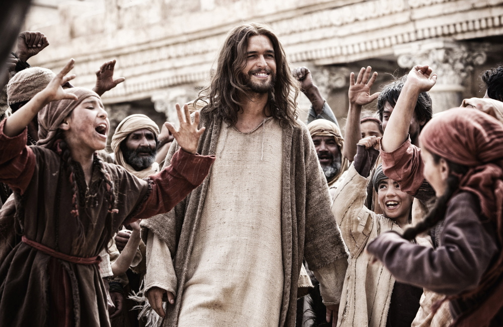 "Diogo Morgado as Jesus in ""Son of God."""