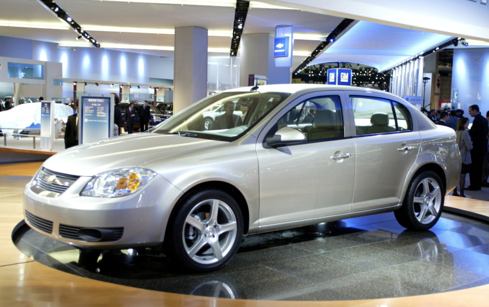 The 2005 Chevrolet Cobalt is among more than 780,000 Cobalts and Pontiac G5s recalled by GM on Feb. 13 for faulty ignition switches. On Tuesday, GM added 842,000 more vehicles.