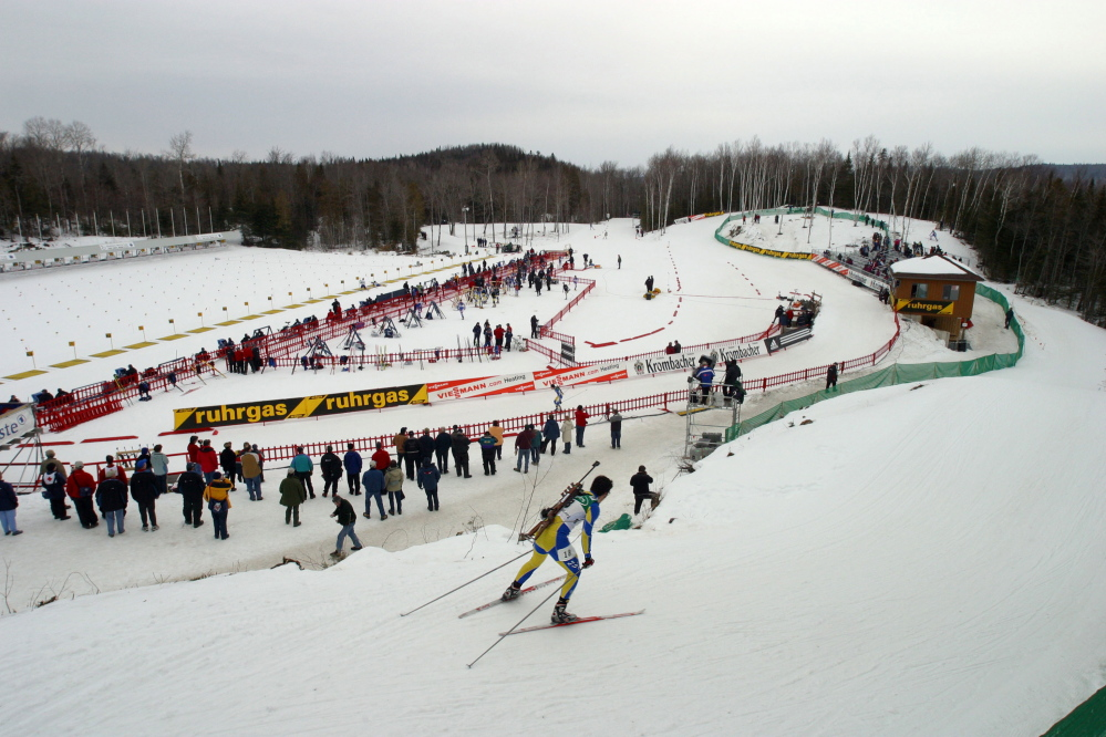 An official at the Maine Winter Sports Center in Aroostook County says the $100,000 gift and matching grant are only the beginning of the fundraising.